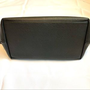 Bags - Black Toiletry Bag, Travel Pouch